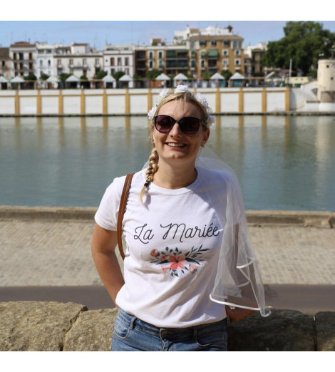 t-shirt femme La Mariée