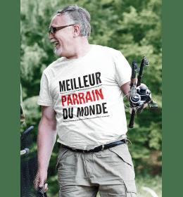 T-shirt homme LE MEILLEUR PARRAIN DU MONDE