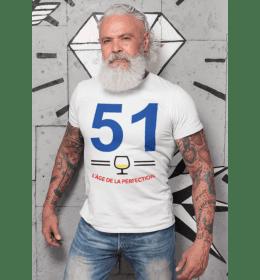 T-shirt homme 51 L'ÂGE DE LA PERFECTION
