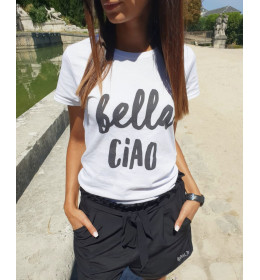 woman t-shirt BELLA CIAO