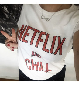 T-shirt femme NETFLIX AND CHILL