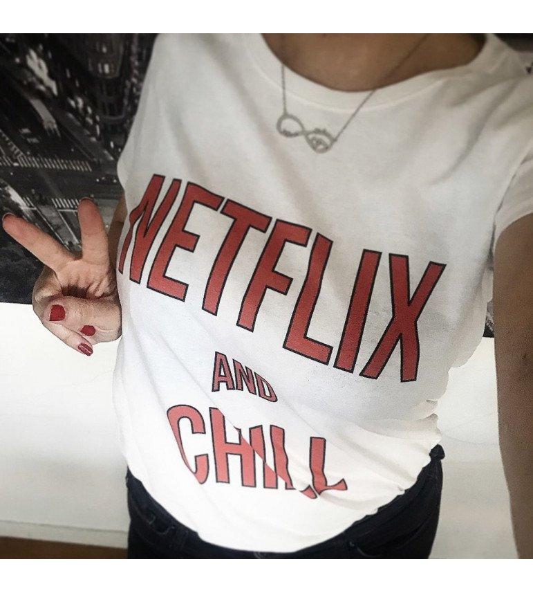 T-shirt femme NETFLIX AND CHILL
