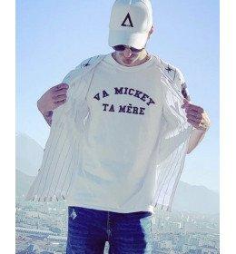 Man T-shirt VA MICKEY TA MERE