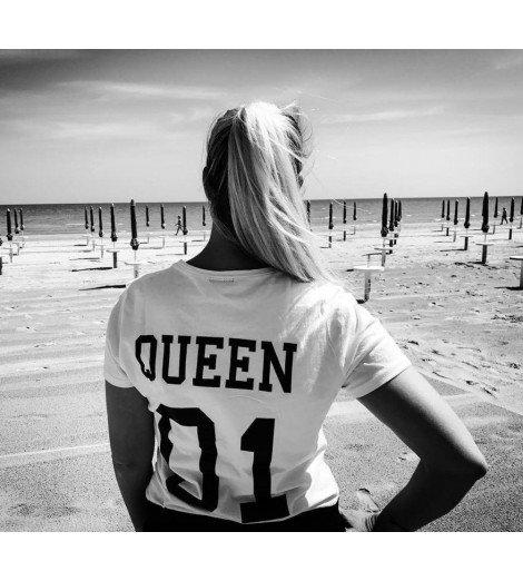 T-shirt Femme QUEEN 01