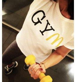 Woman T-shirt GYM