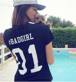 Woman T-shirt BADGIRL 01