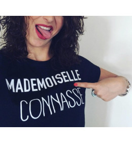 Woman T-shirt MADEMOISELLE CONNASSE