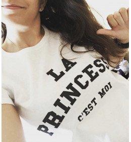 Woman T-shirt LA PRINCESSE C'EST MOI