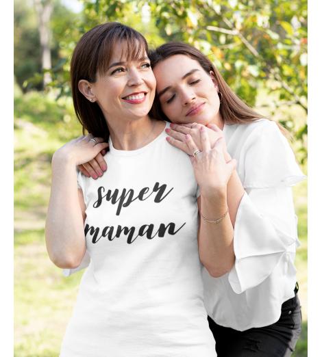 t-shirt femme SUPER MAMAN