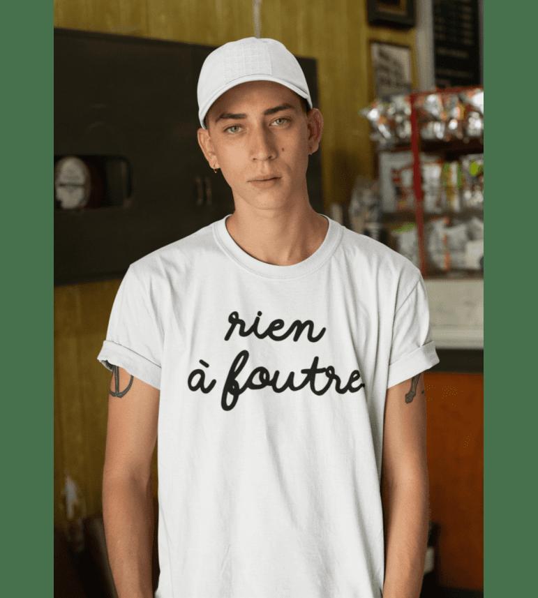 T-shirt Homme RIEN À FOUTRE