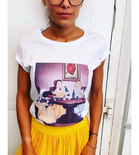 T-shirt femme SOIRÉE PRINCESSES