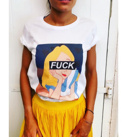 T-shirt ALICE FUCK