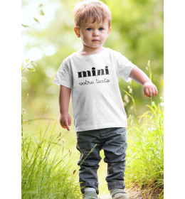 """T-shirt enfant """"MINI"""" à personnaliser"""