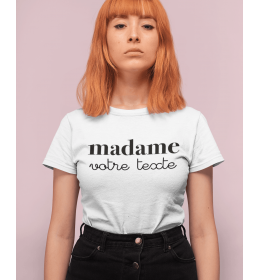 t-shirt femme MADAME à PERSONNALISER