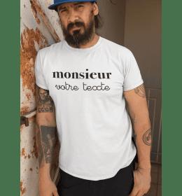 t-shirt MONSIEUR A PERSONNALISER
