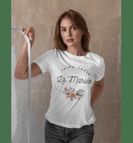 t-shirt La Mariée à personnaliser