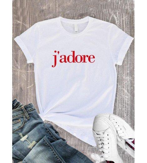 T-Shirt femme j'adore
