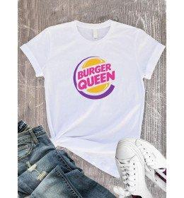 T-Shirt femme BURGER QUEEN