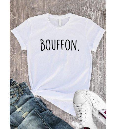 T-Shirt femme BOUFFON.