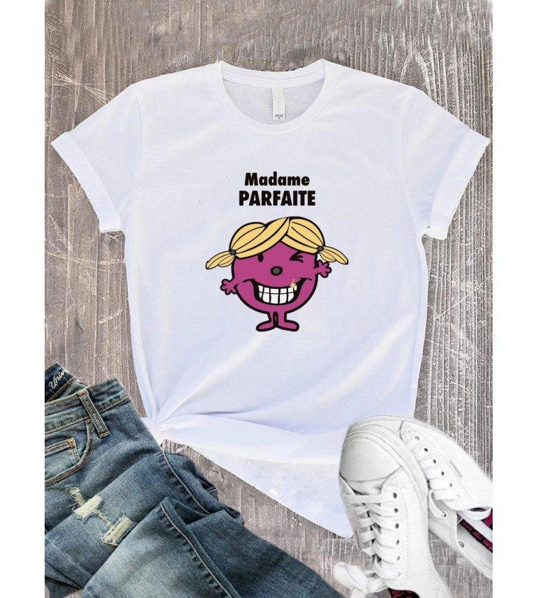 T-Shirt femme Madame Parfaite