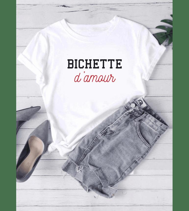 T-shirt Femme BICHETTE D'AMOUR