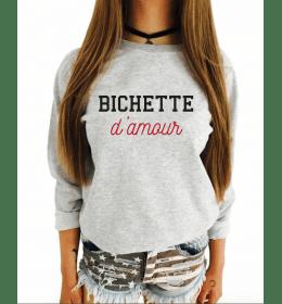 Sweat Femme BICHETTE D'AMOUR