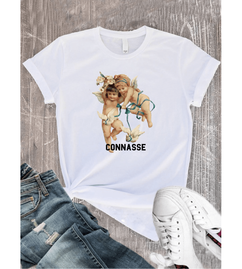 T-shirt ANGE CONNASSE