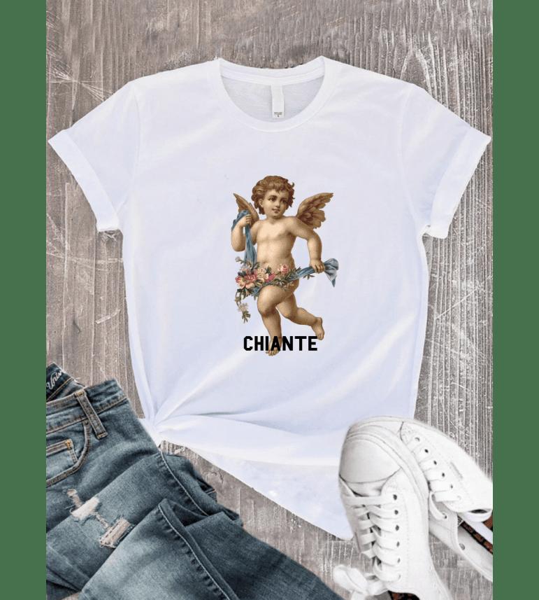T-shirt Femme ANGE CHIANTE