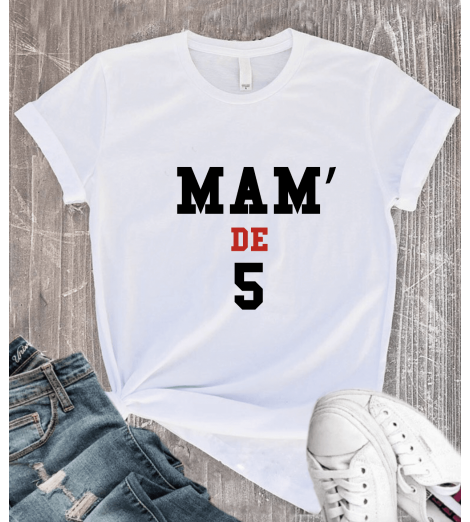 T-shirt Femme MAM DE