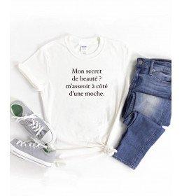 T-shirt femme MON SECRET DE BEAUTÉ