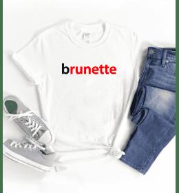 T-shirt Femme BRUNETTE