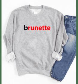 Sweat Femme BRUNETTE