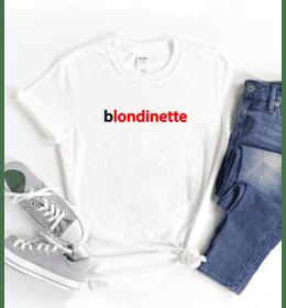 T-shirt Femme BLONDINETTE
