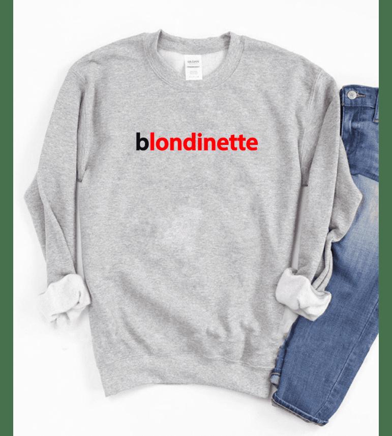 Sweat Femme BLONDINETTE