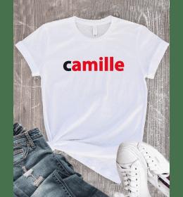 T-shirt Femme PRÉNOM NUTELLA PERSONNALISÉ
