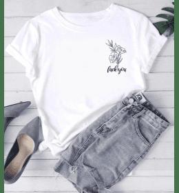 T-shirt Femme FUCK YOU