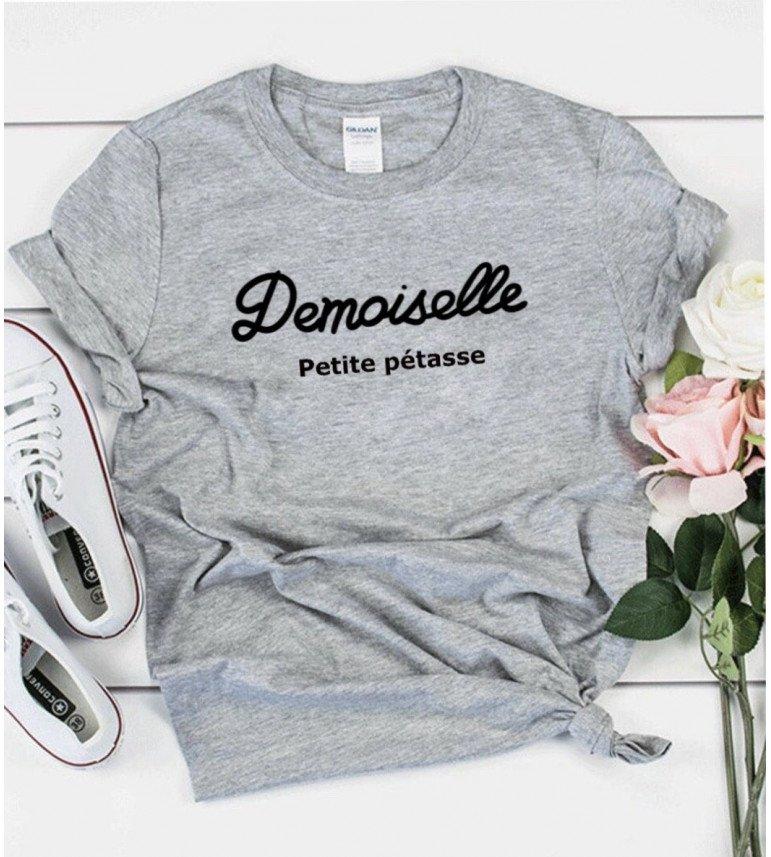 T-shirt Femme DEMOISELLE PETITE PÉTASSE