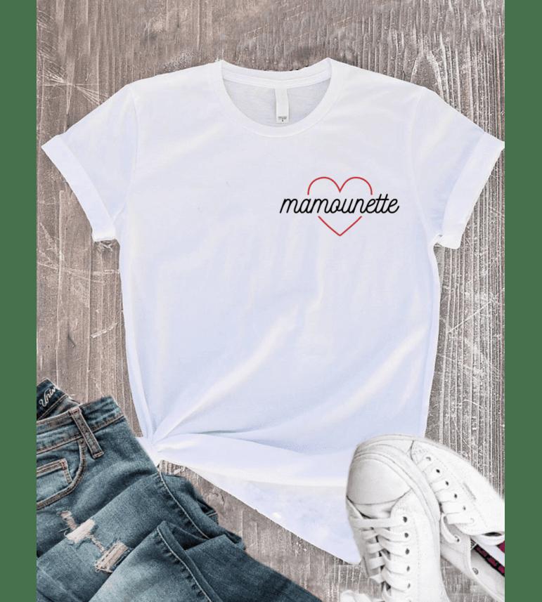 T-shirt Femme COEUR MAMOUNETTE