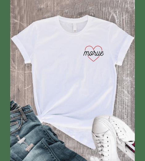 T-shirt Femme COEUR MORUE