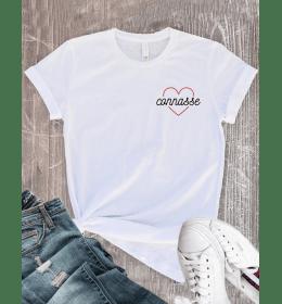 T-shirt Femme COEUR CONNASSE