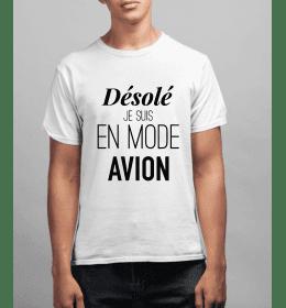 T-shirt Homme DÉSOLÉ JE...
