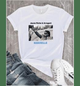 T-shirt femme blanc Bernard...