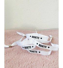Bracelet satin Bichette