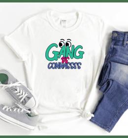 T-shirt blanc Gang de...
