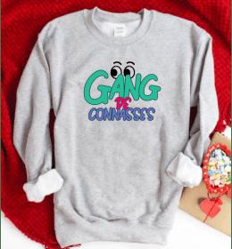 Sweat gris Gang de connasses